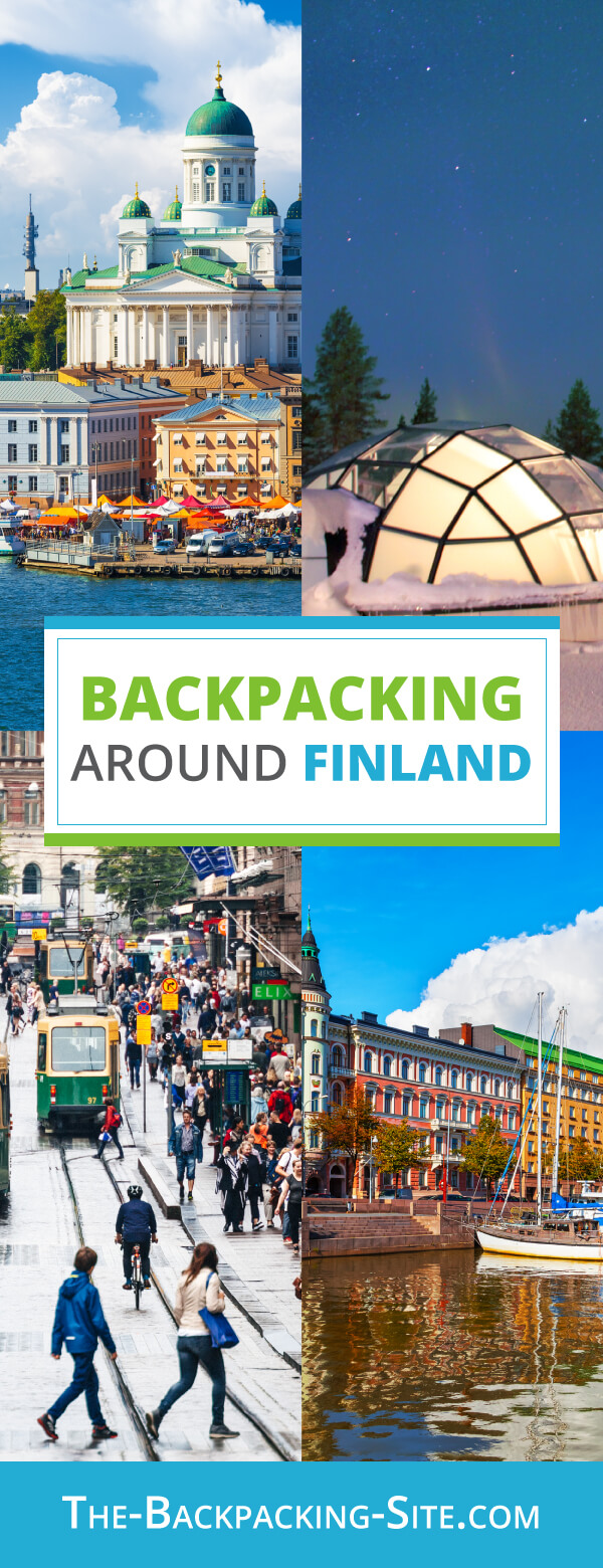 A guide for backpacking around Finland. Get important travelers information when it comes to Finland including visa requirements, employment opportunities, common Finish phrases and translation, as well as Finland hostels.