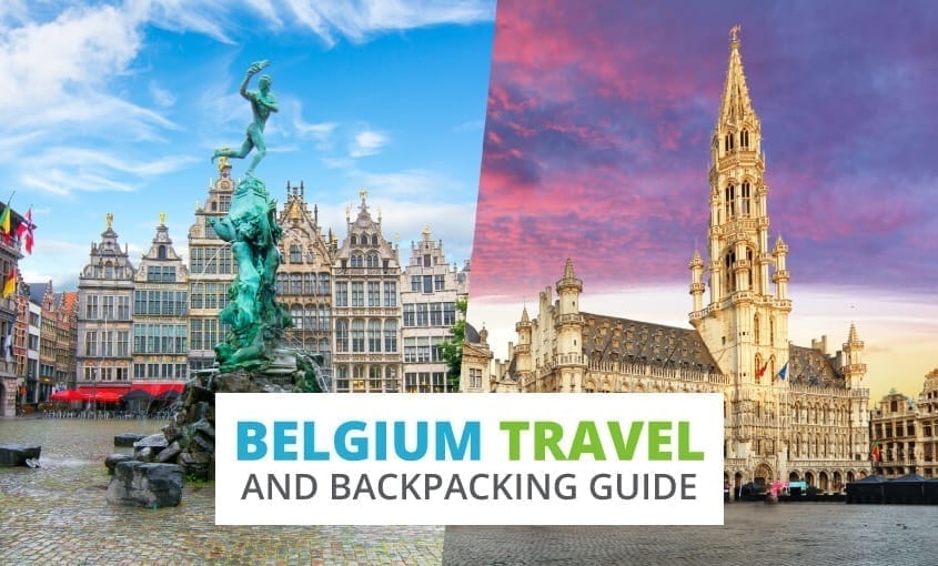 A collection of Belgium travel and backpacking resources including Belgium travel, entry visa requirements, employment for backpackers, and French phrasebook.