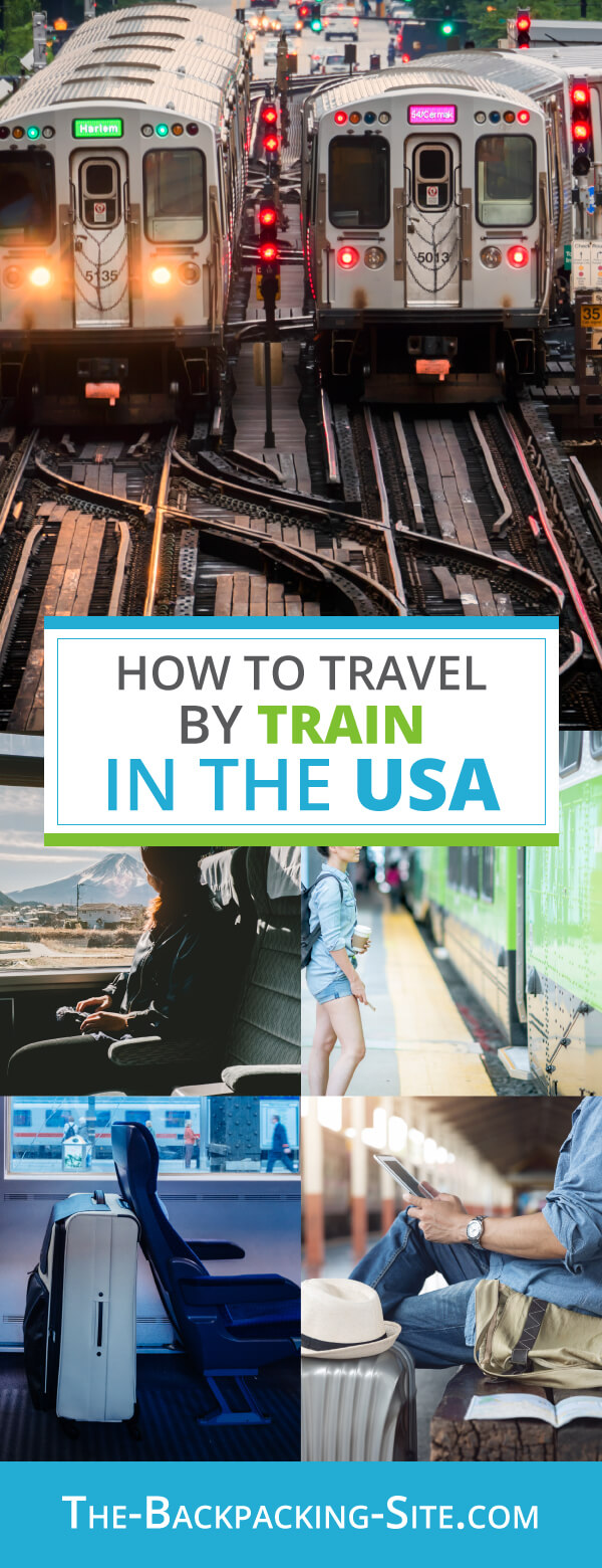 How to travel by train in the USA. Get information on train comfort, train options, and Amtrak alternatives.