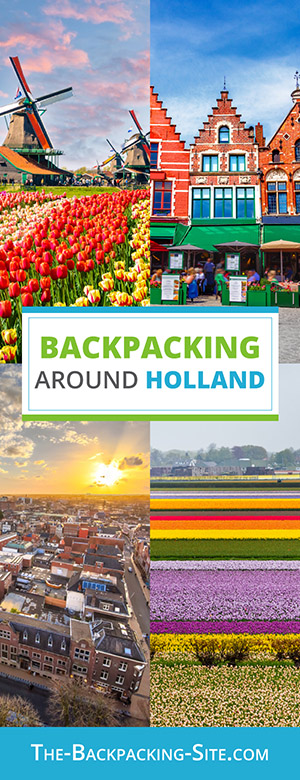 A guide for backpacking around Holland. Get important travelers information when it comes to Holland including visa requirements, employment opportunities, common Dutch phrases and translation, as well as Holland hostels.