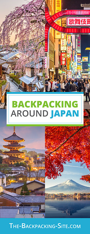 A guide for backpacking around Japan. Get important travelers information when it comes to Japan including visa requirements, employment opportunities, common Japanese phrases and translation, as well as Japan hostels.
