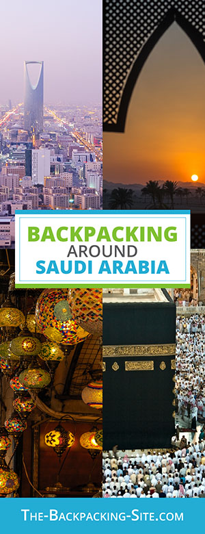 A guide for backpacking around Saudi Arabia. Get important travelers information when it comes to Saudi Arabia including visa requirements, employment opportunities, common Arabic phrases and translation, as well as Saudi Arabia hostels.