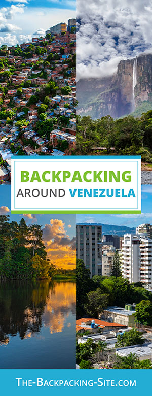 A collection of Venezuela travel and backpacking resources including Venezuela travel, entry visa requirements, employment for backpackers, and Spanish phrasebook.