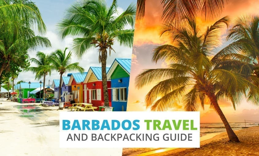 A collection of Barbados travel and backpacking resources including Barbados travel, entry visa requirements, and employment for backpackers.