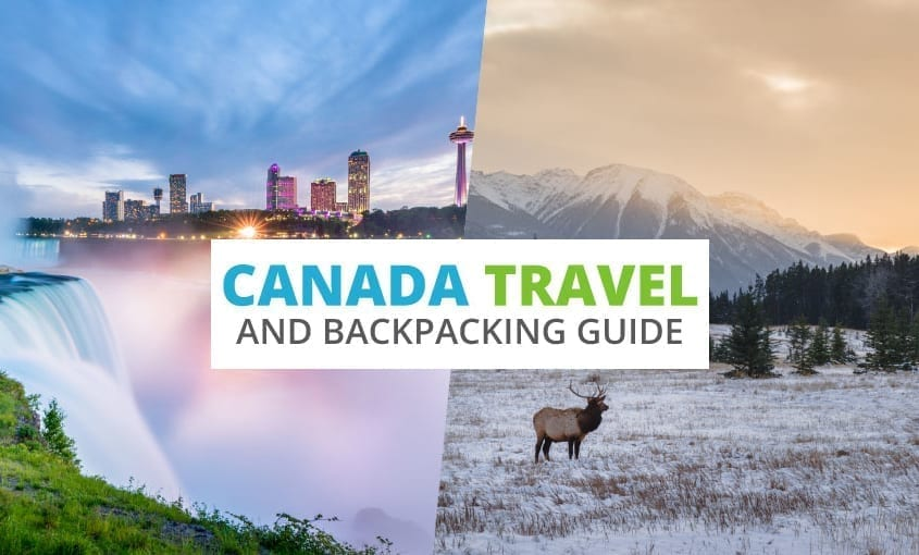 A collection of Canada travel and backpacking resources including Canada travel, entry visa requirements, employment for backpackers, and French phrasebook.