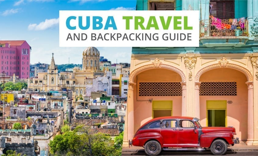A collection of Cuba travel and backpacking resources including Cuba travel, entry visa requirements, employment for backpackers, and Spanish phrasebook.