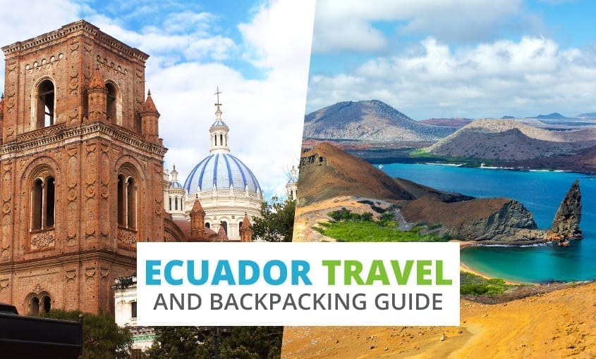 A collection of Ecuador travel and backpacking resources including Ecuador travel, entry visa requirements, employment for backpackers, and Spanish phrasebook.