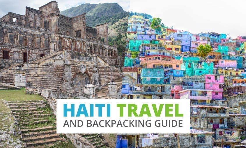 A collection of Haiti travel and backpacking resources including Haiti travel, entry visa requirements, employment for backpackers, and Spanish phrasebook.