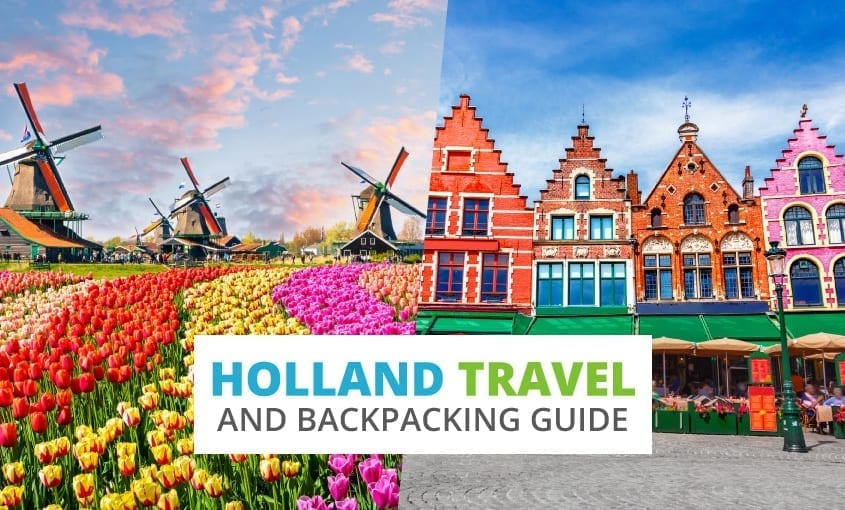 A collection of Holland travel and backpacking resources including Holland travel, entry visa requirements, employment for backpackers, and Dutch phrasebook.