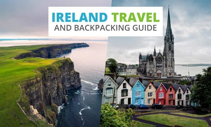 A collection of Ireland travel and backpacking resources including Ireland travel, entry visa requirements, and employment for backpackers.