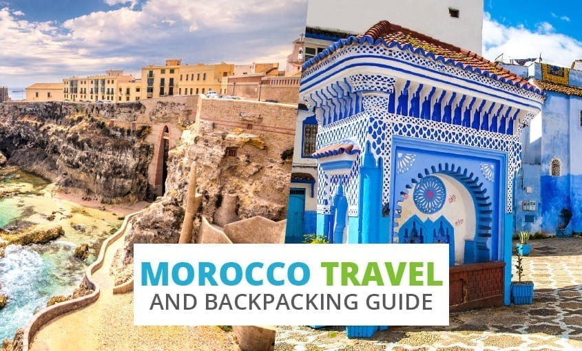 A collection of Morocco travel and backpacking resources including Morocco travel, entry visa requirements, employment for backpackers, and Arabic phrasebook.