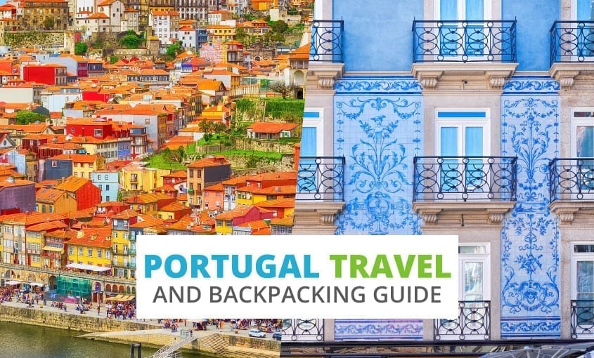 A collection of Portugal travel and backpacking resources including Portugal travel, entry visa requirements, employment for backpackers, and Portuguese phrasebook.