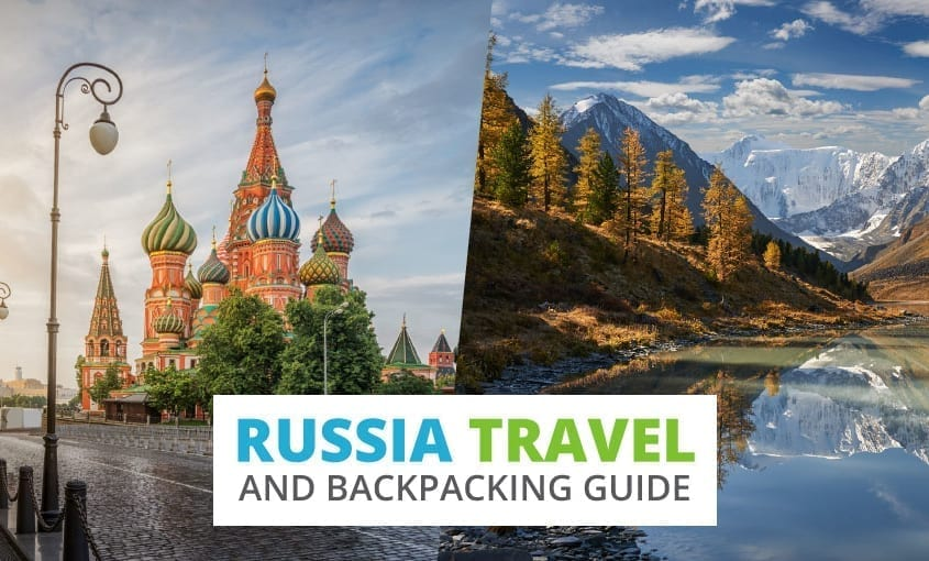 A collection of Russia travel and backpacking resources including Russia travel, entry visa requirements, employment for backpackers, and Russian phrasebook.