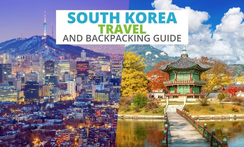 A collection of South Korea travel and backpacking resources including South Korea travel, entry visa requirements, employment for backpackers, and Korean phrasebook.