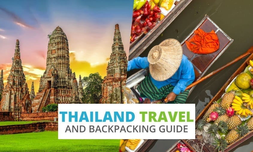 A collection of Thailand travel and backpacking resources including Thailand travel, entry visa requirements, employment for backpackers, and Thai phrasebook.