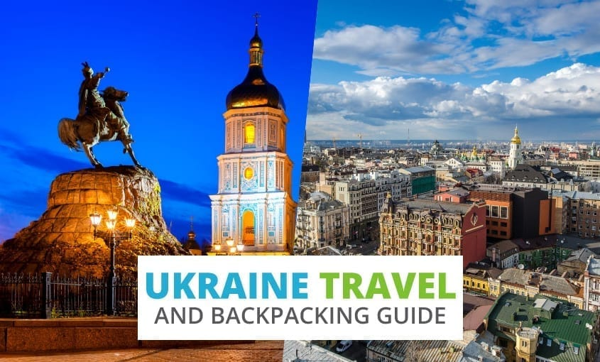 A collection of Ukraine travel and backpacking resources including Ukraine travel, entry visa requirements, employment for backpackers, and Ukrainian/Russian phrasebook.