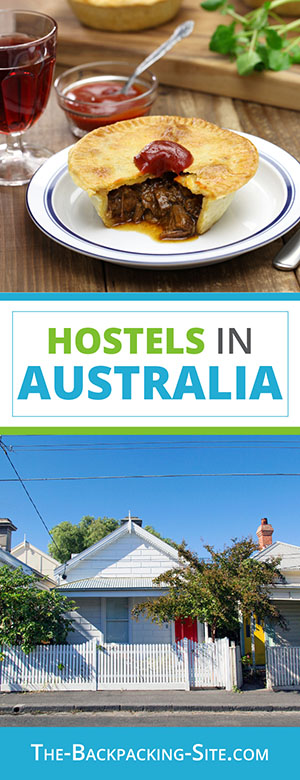 Budget travel and hostels in Australia including: New South Wales hostels,  Sydney hostels,  Tasmania hostels, and  Victoria hostels.