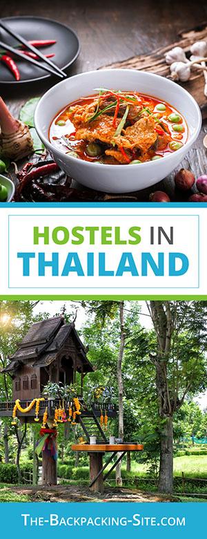 Budget travel and hostels in Thailand including: Bangkok hostels,  Chaing Rai hostels,  Krabi hostels, and  Suratthani hostels.