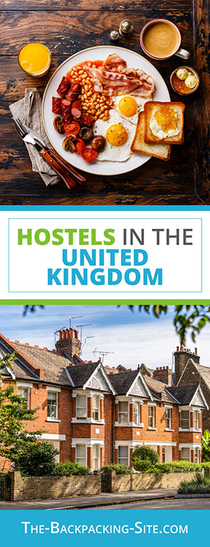Budget travel and hostels in United Kingdom including: England hostels,  Scotland hostels,  Northern Ireland hostels, and Wales hostels.